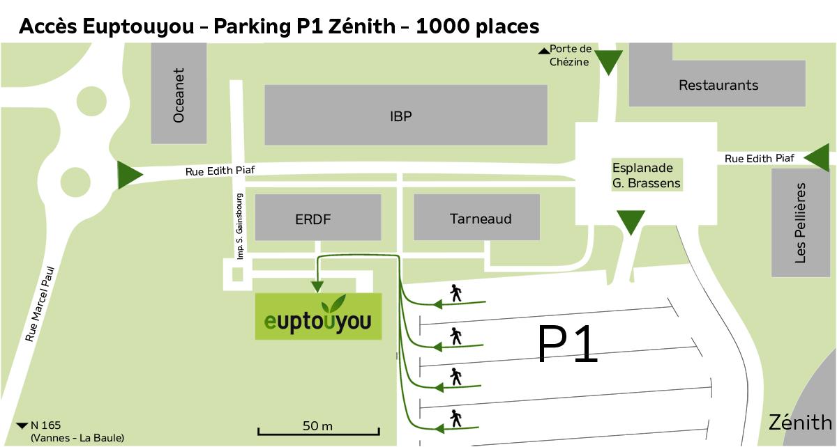 place zénith nantes