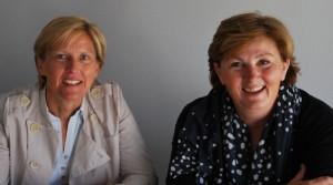 Myriam Seroux et Marie-Françoise Redon